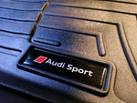 Audi Sport Emblems for Weathertech Floor Mats (Single) - S3 RS3 S4 S6 S7 S8 TTRS