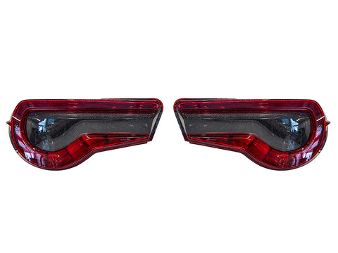 Special Edition Dark Smoke Galaxy Tail Light Overlays - 2017-2021 Toyota 86 / Subaru BRZ