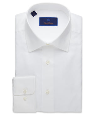 David Donahue Royal Oxford Dress Shirt - Regular Fit (2 Colors)