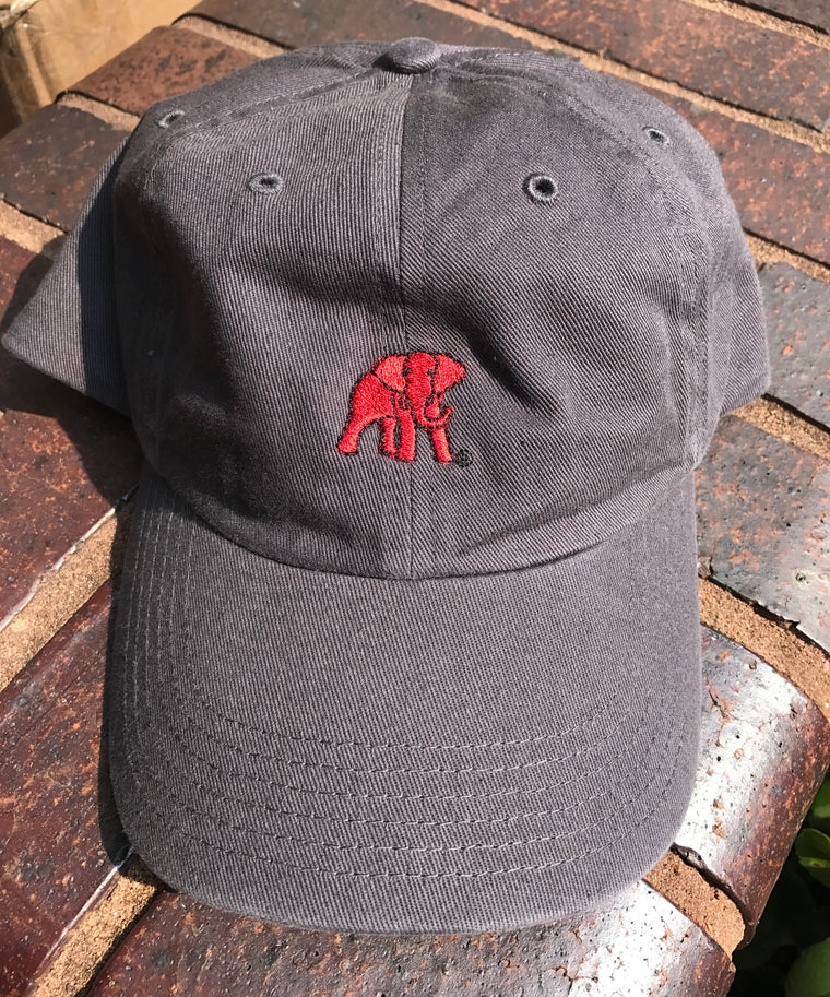 Canvas Ball Cap with Elephant Wear logo
