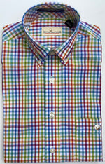Cotton Brothers Wrinkle Free Button Down - Campus Check