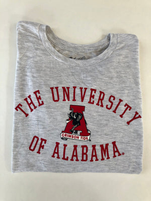 Retro Brand Ash The University of Alabama Tee Shirt