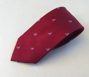 "Scotty Z English Ribbed Silk ""A"" Tie"