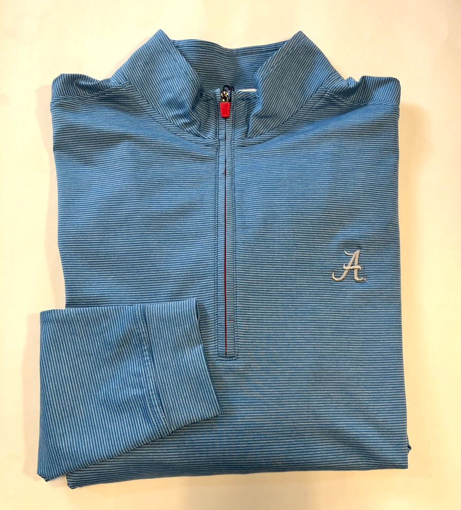 johnnie-O Vaughn Quarter Zip with Alabama Logo (2 Colors)