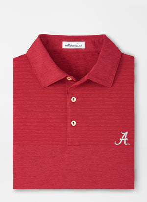 Load image into Gallery viewer, Peter Millar Alabama Engineered Stripe Polo (2 Colors)