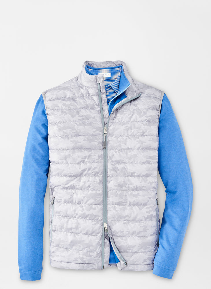Peter Millar Hyperlight Quilted Camo Vest