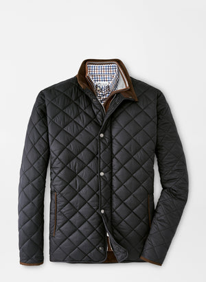 Peter Millar Suffolk Quilted Travel Coat (3 Colors)