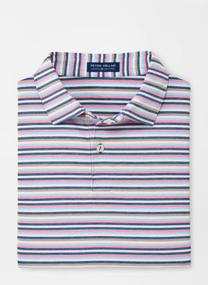 Peter Millar Crown Crafted Kane Stripe Performance Polo