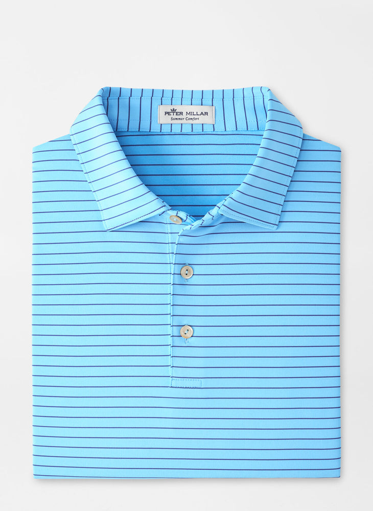 Peter Millar Crafty Stripe Performance Polo (4 Colors)