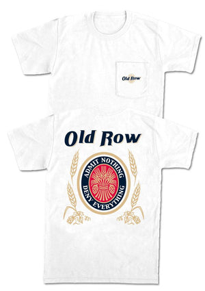 Old Row-Retro Can Pocket Tee