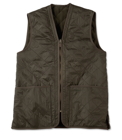 Men's Barbour Polarquilt Vest/Zip-In Liner