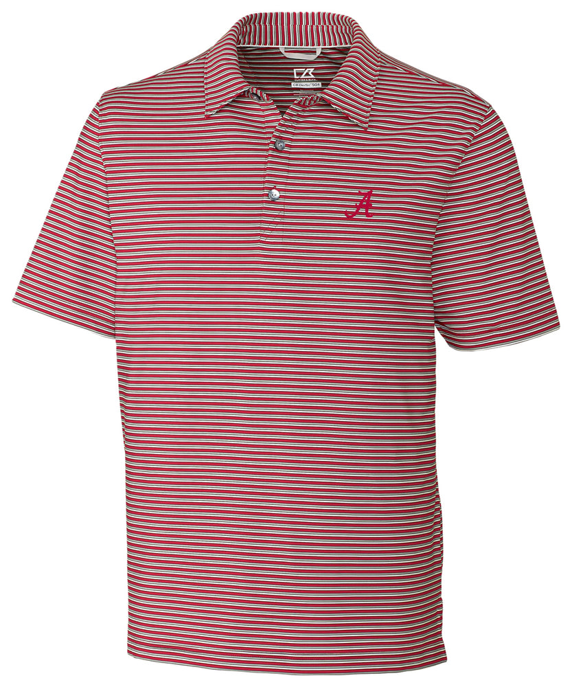 Load image into Gallery viewer, Cutter & Buck Division Stripe Polo with Logo (2 Colors)
