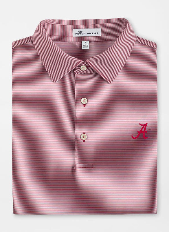 Peter Millar Alabama Jubilee Stripe Polo - 2 Colors
