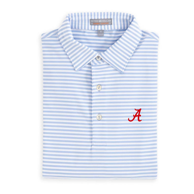 Peter Millar Alabama Competition Performance Striped Polo (3 Colors)
