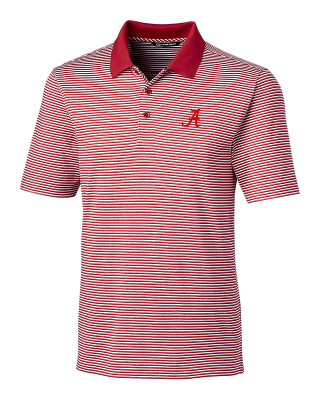 Cutter & Buck Forge Polo Tonal Stripe with Script A (2 colors)