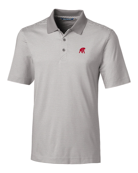 Cutter & Buck Forge Polo Tonal Stripe with Elephant Wear logo (2 colors)
