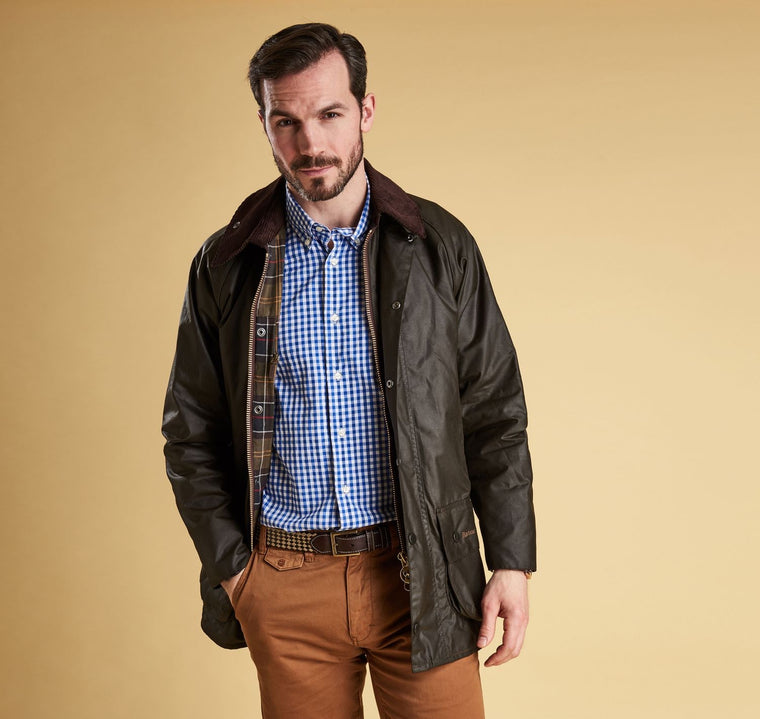 Men's Barbour Waxed Cotton Classic Beaufort