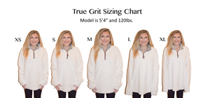 Load image into Gallery viewer, True Grit Frosty Tip Pullover - Aqua