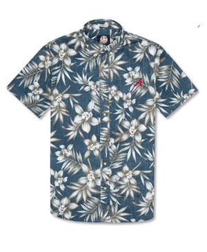 "Load image into Gallery viewer, Reyn Spooner Onishi Garden Classic Fit with ""A"" (2 colors)"