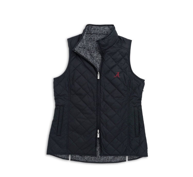 Peter Millar Alabama Women's Reversible Quilted Vest