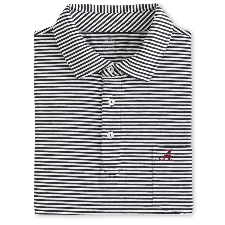 Peter Millar Alabama Cotton Seaside Stripe Polo