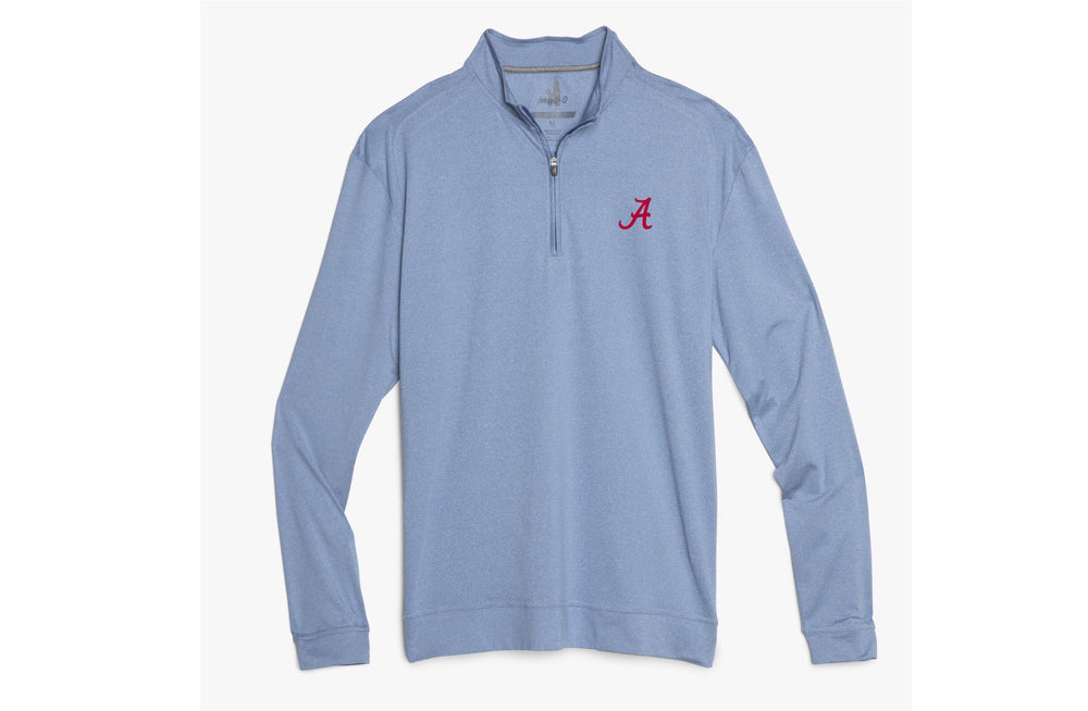 Johnnie O Flex Quarter Zip with Alabama Logo