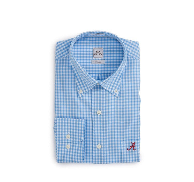 Peter Millar Alabama Nanoluxe Check