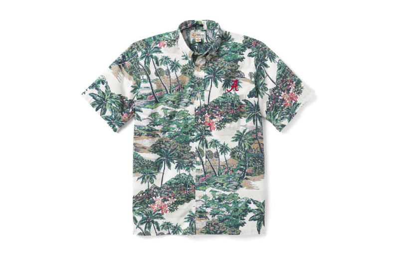 "Reyn Spooner Mauna Lani Classic Fit Button Down with ""A"""