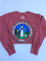 University Seal Long Sleeve Tee Shirt