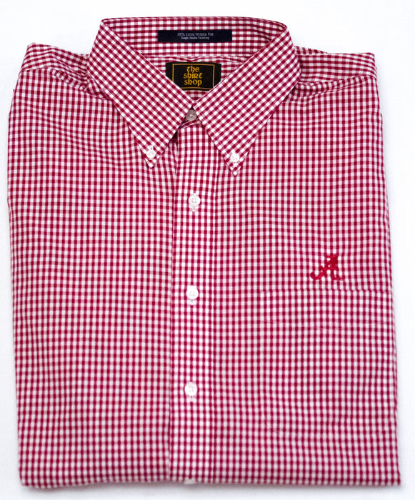 The Shirt Shop Small Check Button Down (2 colors)