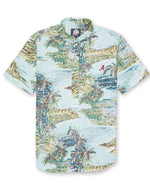"Reyn Spooner Diamond Head Tailored Button Down with ""A"""