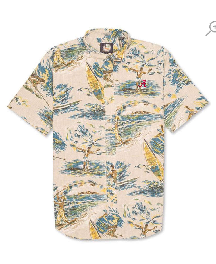 Reyn Spooner Moana Medley Button Down with