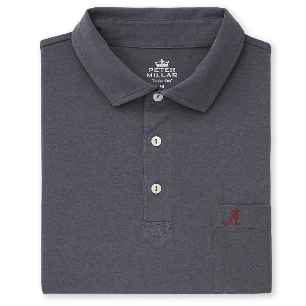 Peter Millar Alabama Solid Seaside Wash Polo