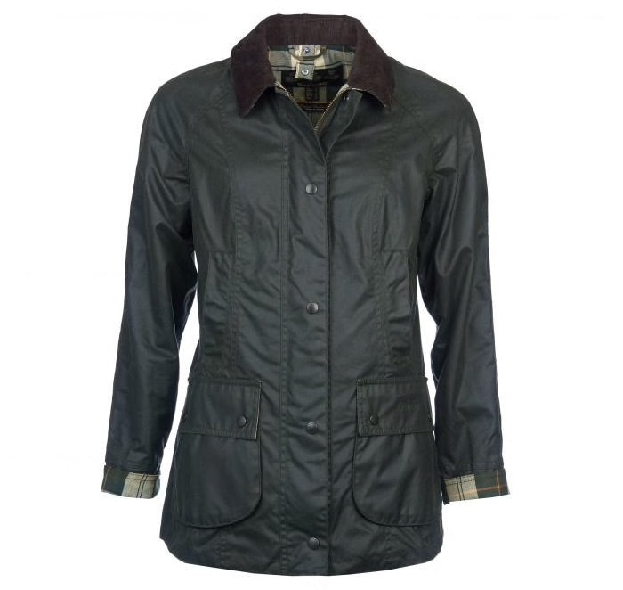 Women's Barbour Waxed Cotton Beadnell