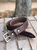 Brenneman's Leather Belt