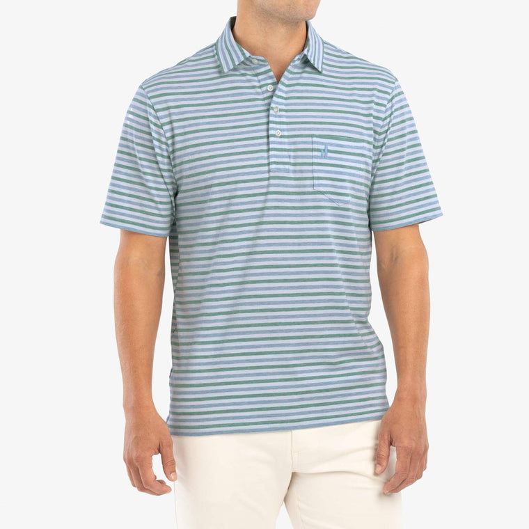 Johnnie-O Palmetto Polo