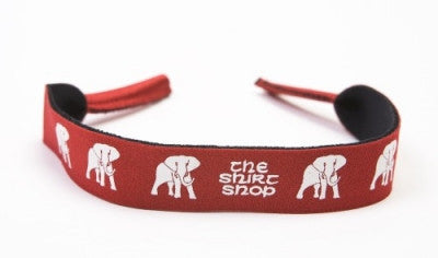 Sunglass Croakie with Elephant Wear Logo