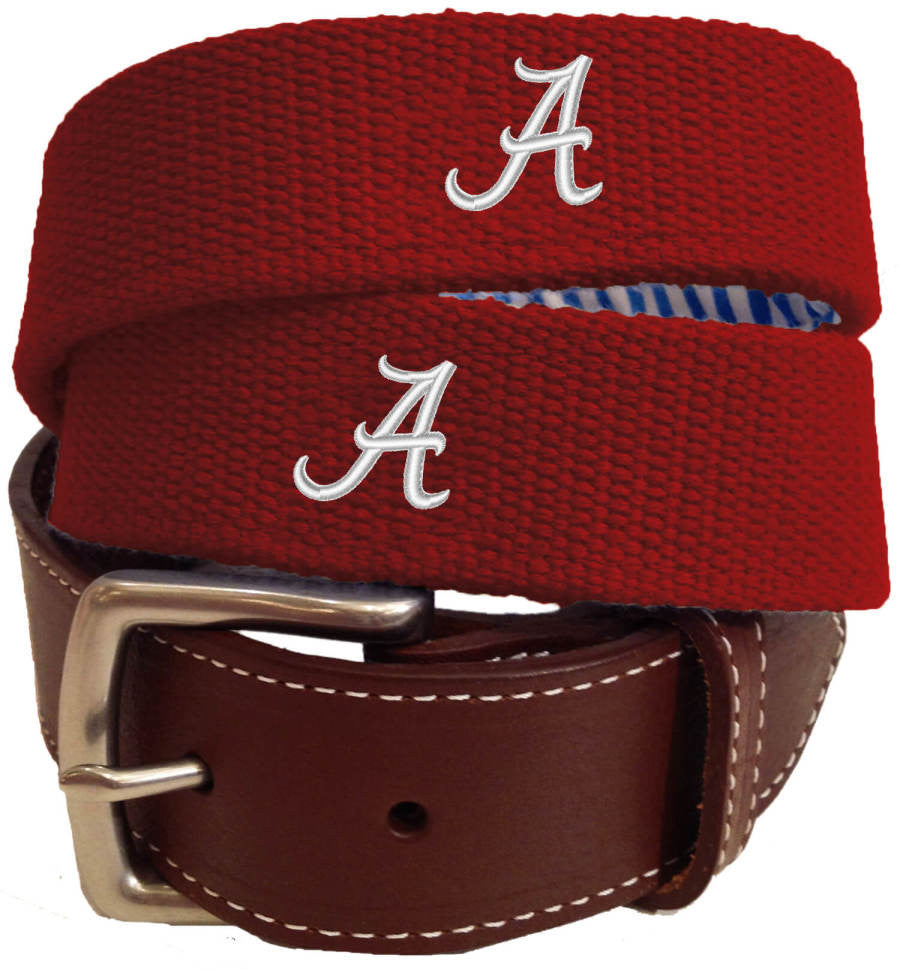 Peter Millar Logo Stitched Belt (4 Colors )