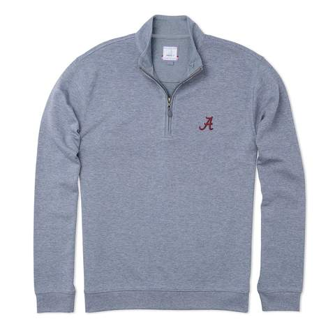Johnnie O Sully Quarter Zip with Alabama Logo