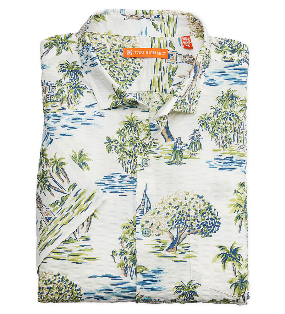 Load image into Gallery viewer, Tori Richard Aloha Toile Button Down/Polo