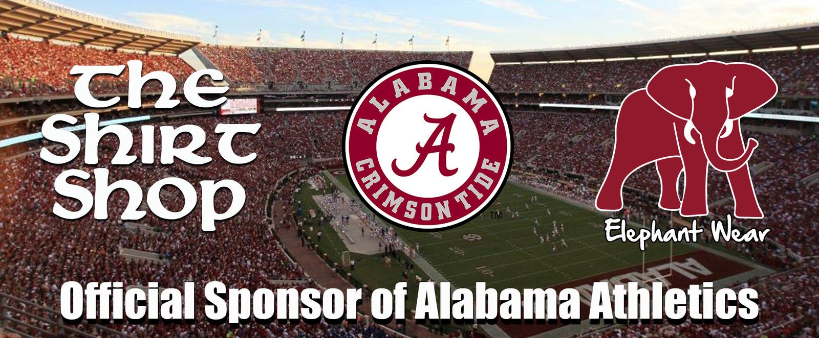 University of Alabama Elephant Wear Apparel