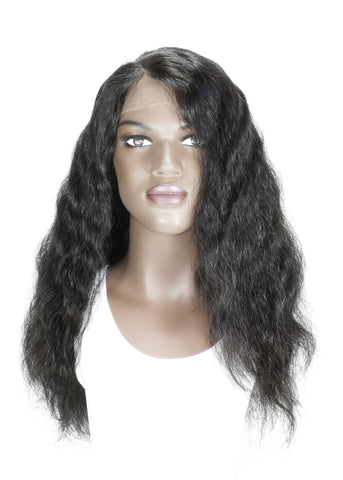 Picture of Virgin Chinese Loose Wave Full Lace Wig