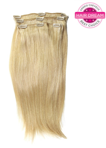 Picture of Colored Chinese Fine Straight Clip-In Hair Extensions
