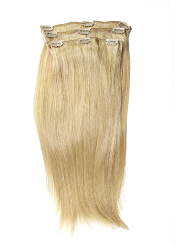 Picture of Colored Chinese Natural Straight Clip-In Hair Extensions