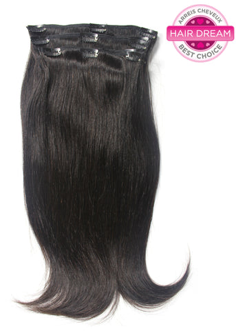 Picture of Virgin Chinese Fine Straight Clip-In Hair Extensions