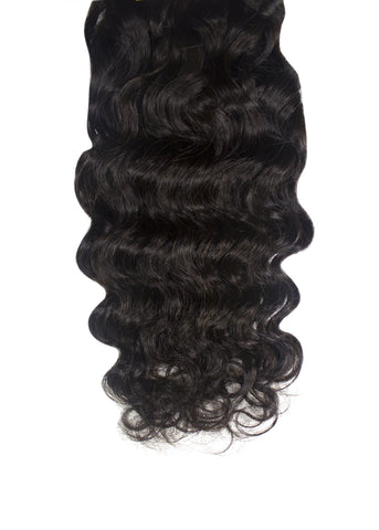 Picture of Virgin Brazilian Deep Wave Weft Extension