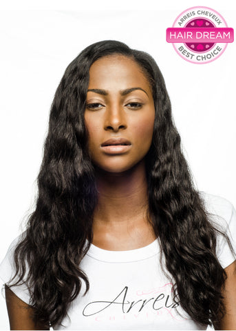 Picture of Colored Brazilian Loose Wave Weft Extension- Ready to Ship