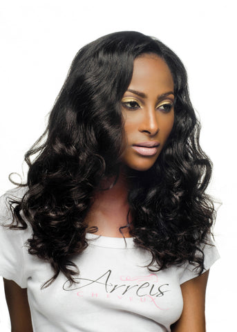 Picture of Virgin Brazilian Body Wave Weft Extension