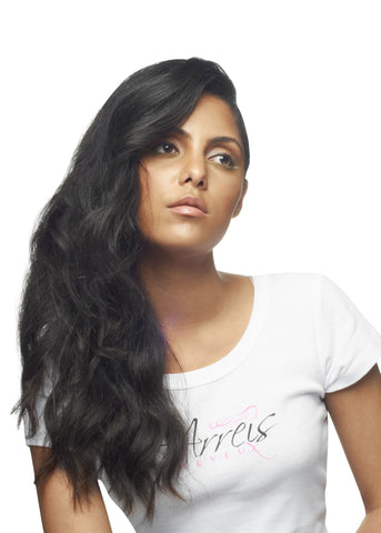 Picture of Colored Indian Loose Wave Weft Extension