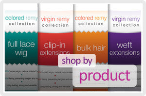Weft Extensions, Full Lace Wigs, Bulk Hair or Clip-In Extensions